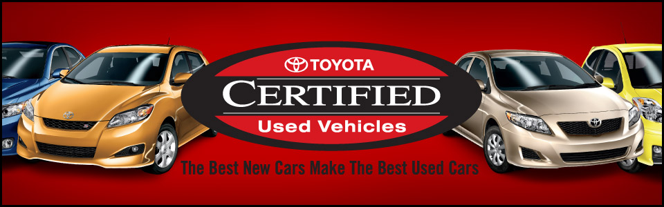 Amazing Toyota Certified Used Cars